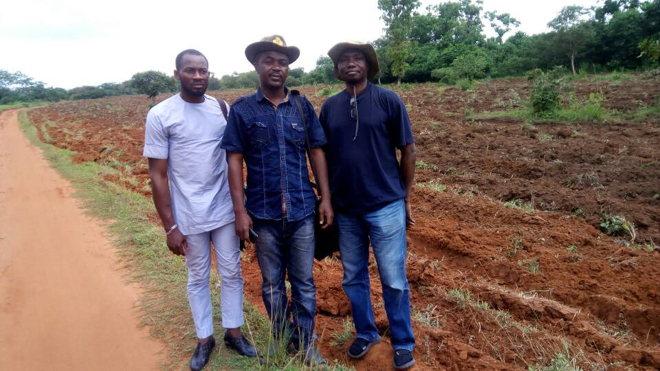 Kingsley Ekwueme, Farmer, Jeremiah Imahiagbe / GrowExpress Ltd.