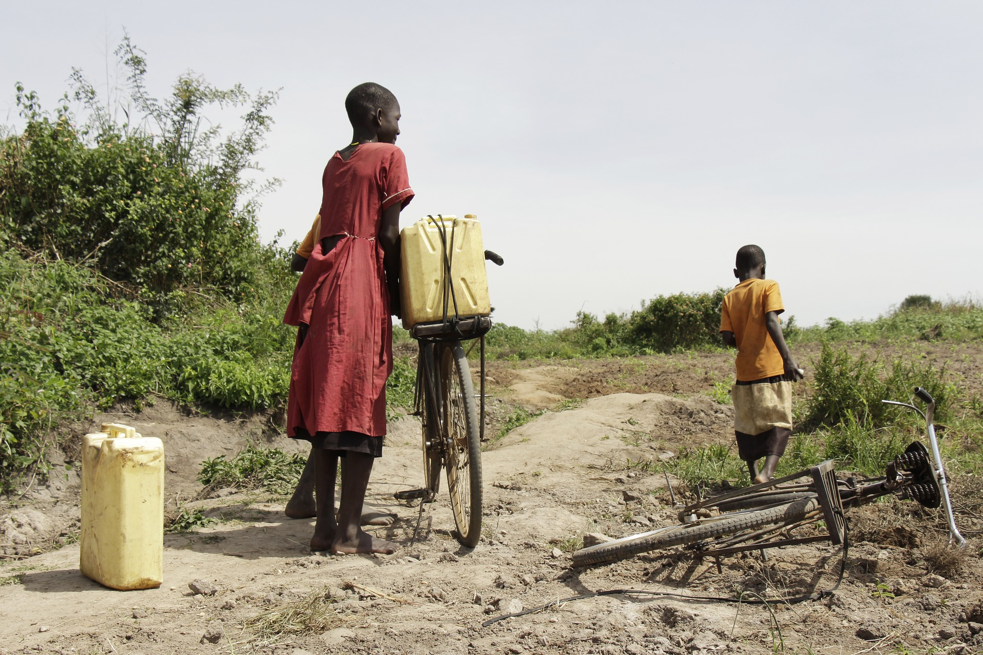 Natural beauties of Africa - Drought and lack of drinking water / Pixabay